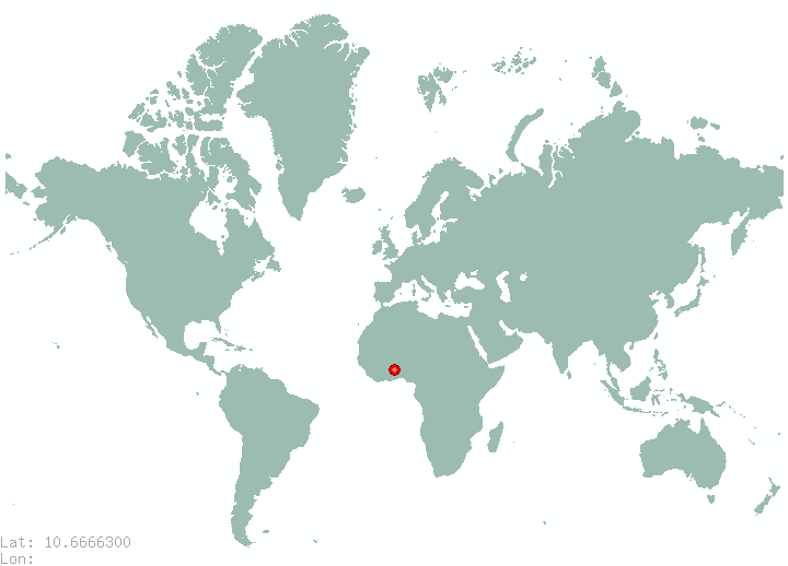 Maracaibo in world map